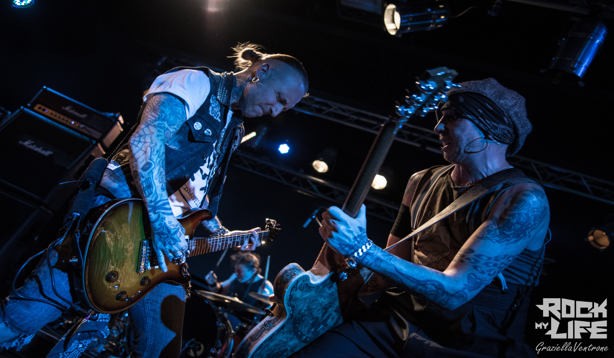 Il  Rock svedese sul palco del Land Of Freedom con i Backyard Babies – Speed Stroke/Black Star Furies/Lester Greenowsky