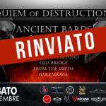 Requiem Of Destruction Fest II, rinviata al 2021 la seconda edizione del festival.